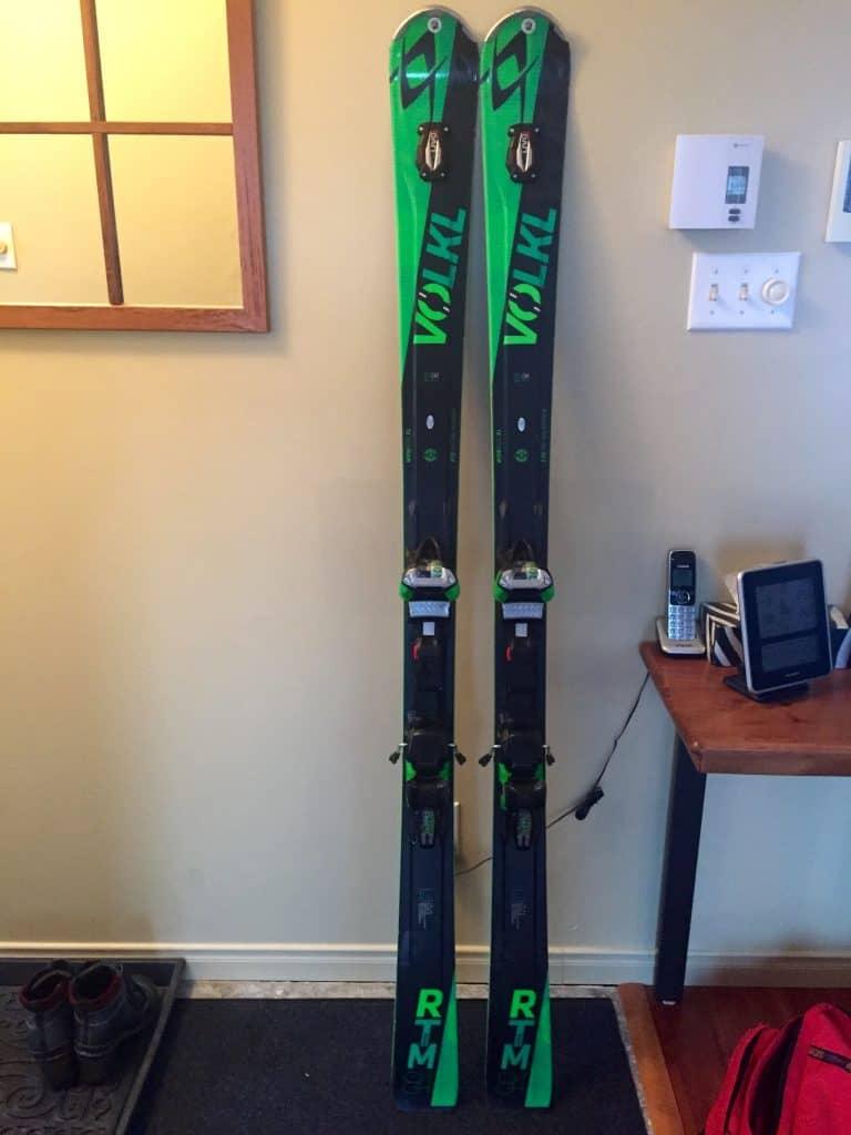 Ski Volkl RTM84 172 cm modèle 2016