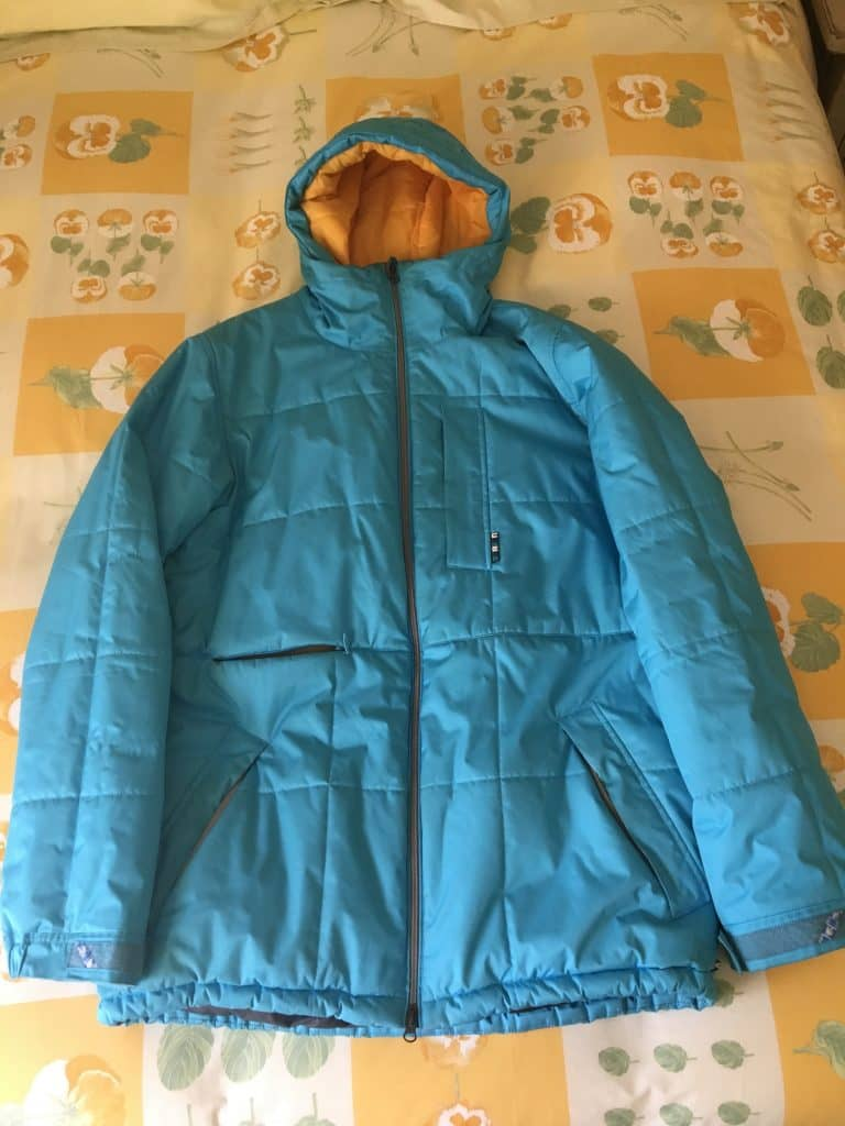 Burton Blue Snowboard Men's Large Jacket Insulated Warm Used – $50